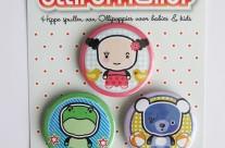 Verschillende soorten buttons